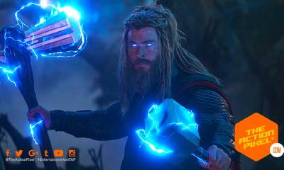 fat thor, bro thor, avengers, avengers: endgame, avengers endgame, chris hemsworth, the action pixel, norse mythology, god, big lebowski, marvel studios, marvel, disney, entertainment on tap,