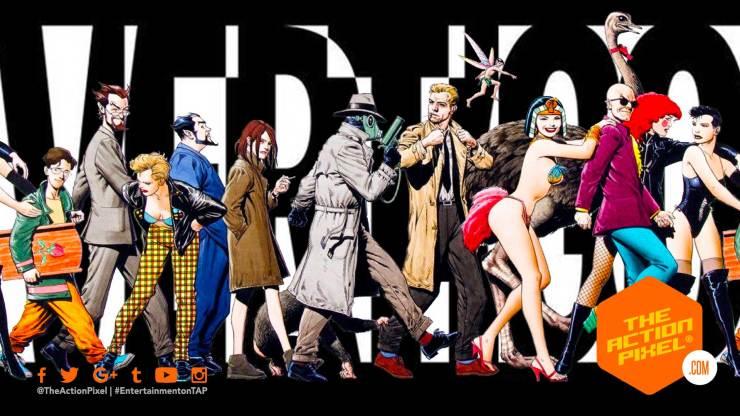 vertigo comics, dc imprint, dc comics, the action dc black label, black label, the action pixel, entertainment on tap