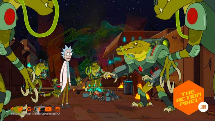 rick and morty 4, rick , morty,rick and morty, ram4,rick and morty season 4, animation, adult swim, cartoon network, the action pixel, entertainment on tap, featured, rick and morty 4 images