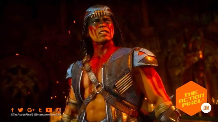 nightwolf, the action pixel, mortal kombat, kombat pack, entertainment on tap, mk, mk 11, mortal kombat 11,