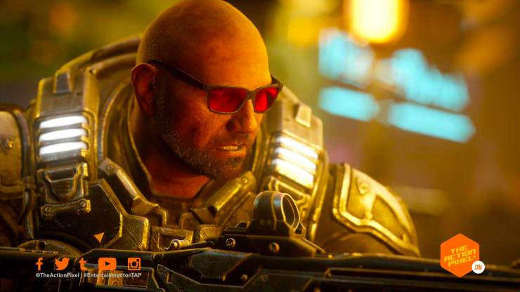 dave bautista, wwe, gears 5, gears of war, the action pixel, entertainment on tap, gears of war 5,