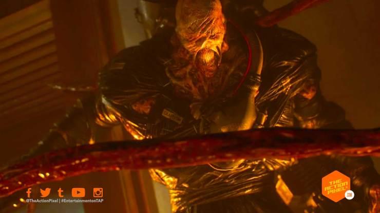 resident evil 3, resident evil, nemesis, nemesis trailer, re3, entertainment on tap, the action pixel,