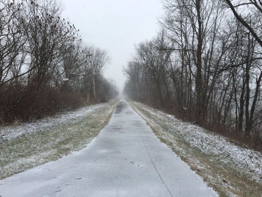 Winter Running Trail