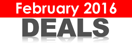 February 2016 Discounts