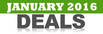 January 2016 Discounts