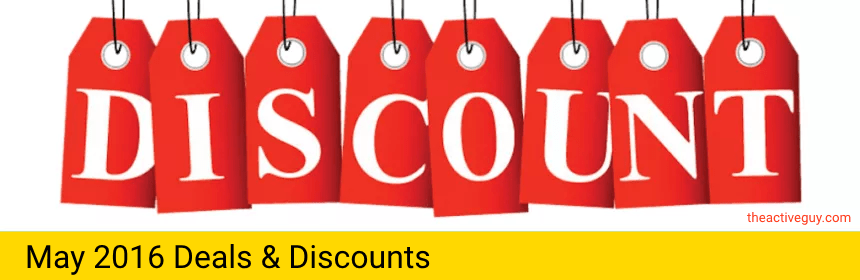 May 2016 Deals and Discounts