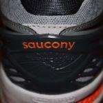 Saucony Hurricane ISO 2 heel closeup