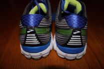 Brooks Ghost 9 heel