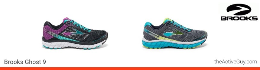 Brooks Ghost 9 Women's Colors