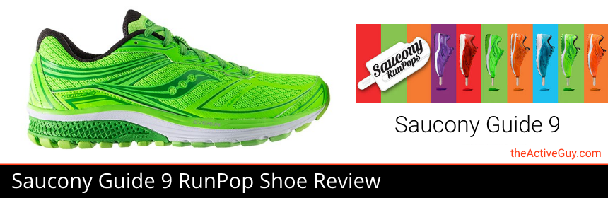 Saucony Guide 9 RunPops Shoe Review | The Active Guy