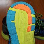Asics DynaFlyte sole heel