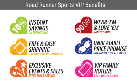 Road Runner Sports VIP Benefits