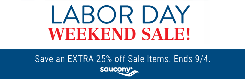 Saucony Labor Day Sale