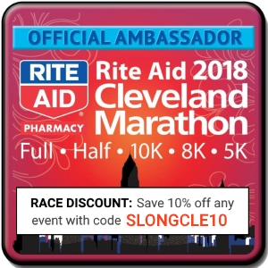 2018 Cleveland Marathon Ambassador Discount