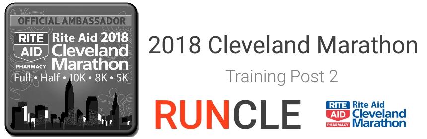 Cleveland Marathon Training - February 2018
