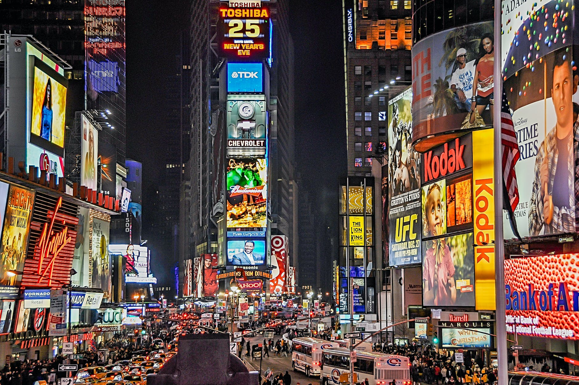 street lights advertising