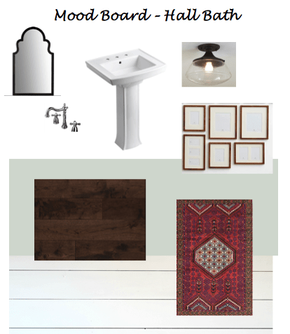 Hall Bath - Mood Board