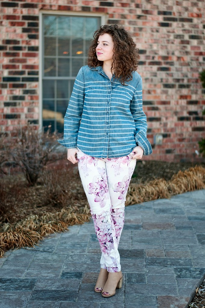 Spring time stripes and florals