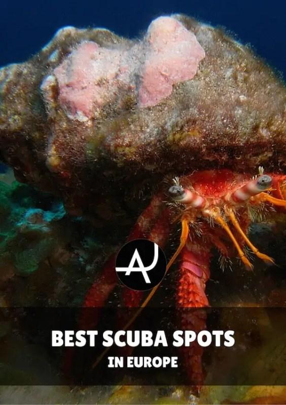 Best dive spots in Europe