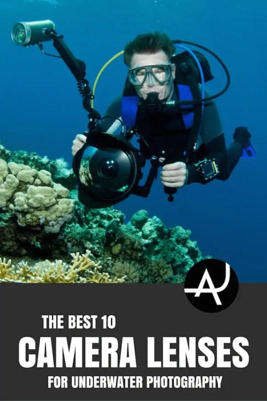 best lenses for scuba diving photography