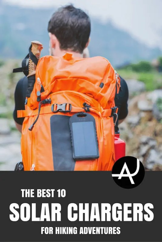 ideal hiking solar chargers