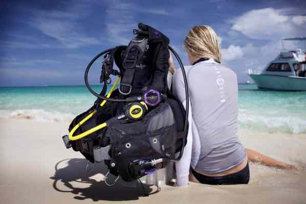 gear for scuba diving