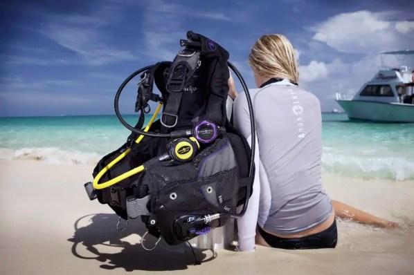 gear for scuba diving