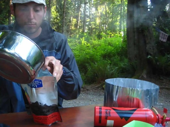 best backpacking dried food