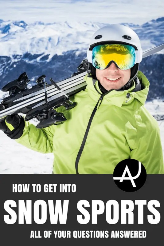 How to Get Into Snow Sports