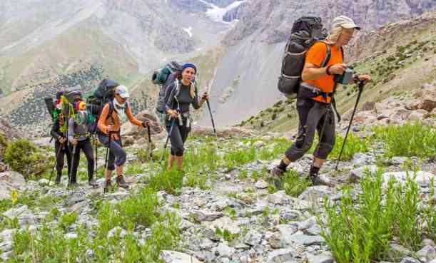how to train for backpacking trips