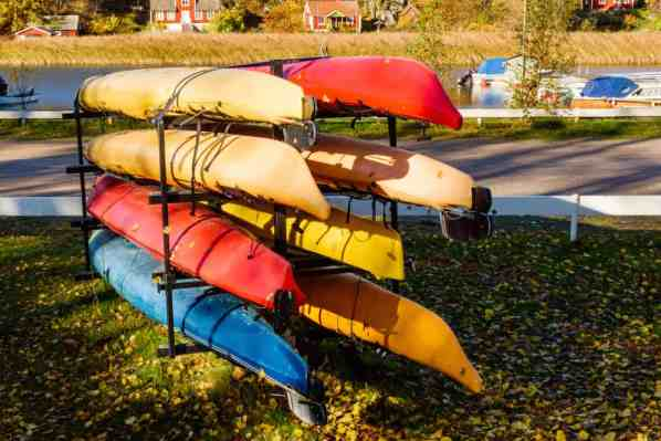 storage for kayak