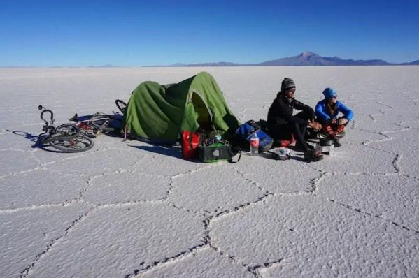 Cycling Salar de Uyuni, Bolivia