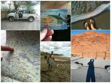 The Adventure Travelers Collage