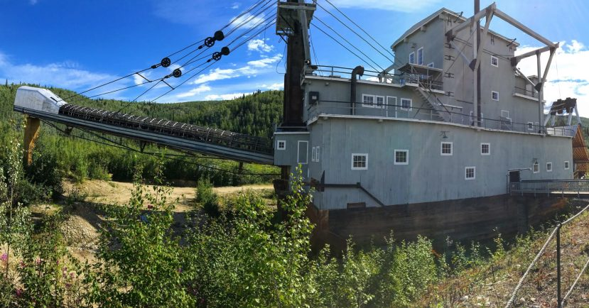 Gold Dredge of Dawson City The Adventure Travelers