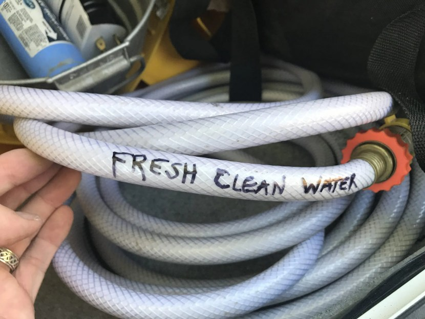 Fresh Clean Water Hose The Adventure Travelers RV