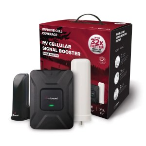WeBoost RV Cellular Booster The Adventure Travelers
