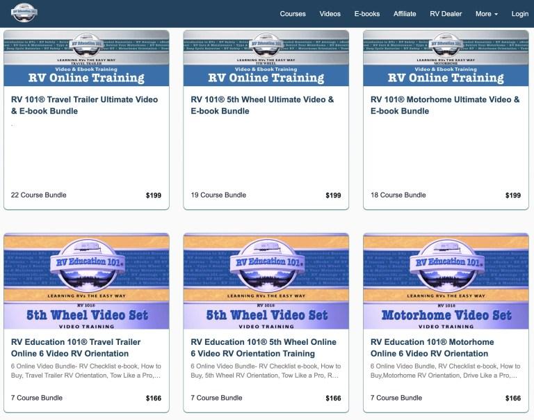 RV Online Training