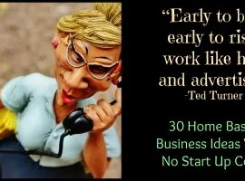 Home Based Businesses No Start Up Costs