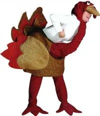 Thanksgiving turkey costume