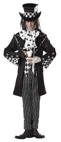 10 Halloween Costumes for Men Bob Marley, Mad Hatter, The Joker