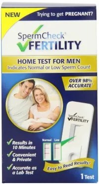 home sperm test for male fertility