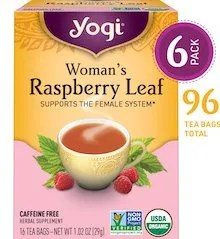 Yogi Raspberry Leaf Tea Supports the Female System