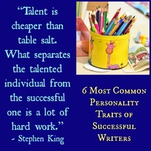 6 Most Common Personality Traits of Successful Writers