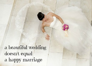 having a happy marriage