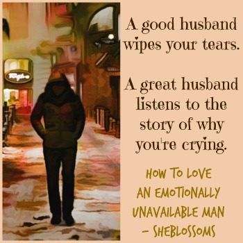 emotionally unavailable husband cheating
