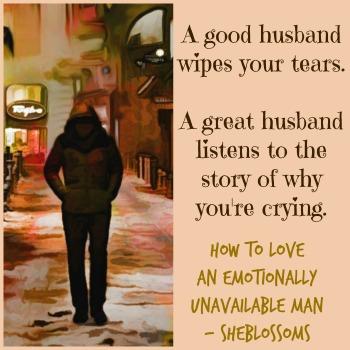 emotionally unavailable husband cheating