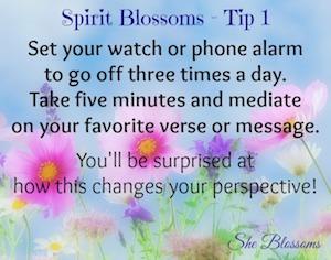 Spirit She Blossoms Tip 1
