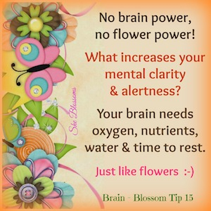 She Blossoms Brain Tip 15