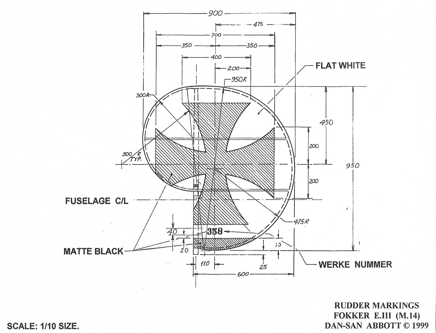 Fokker E Iii Diagrams