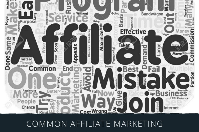 Common Affiliate Mistakes!!